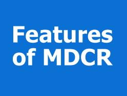 Features Of MDCR