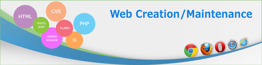 Web Creation/ Maintenance